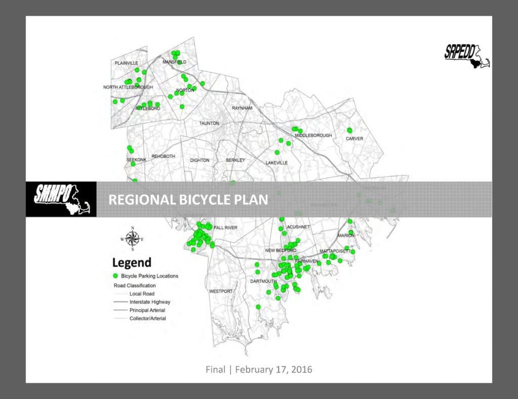Regional Bicycle Plan Cover 2016