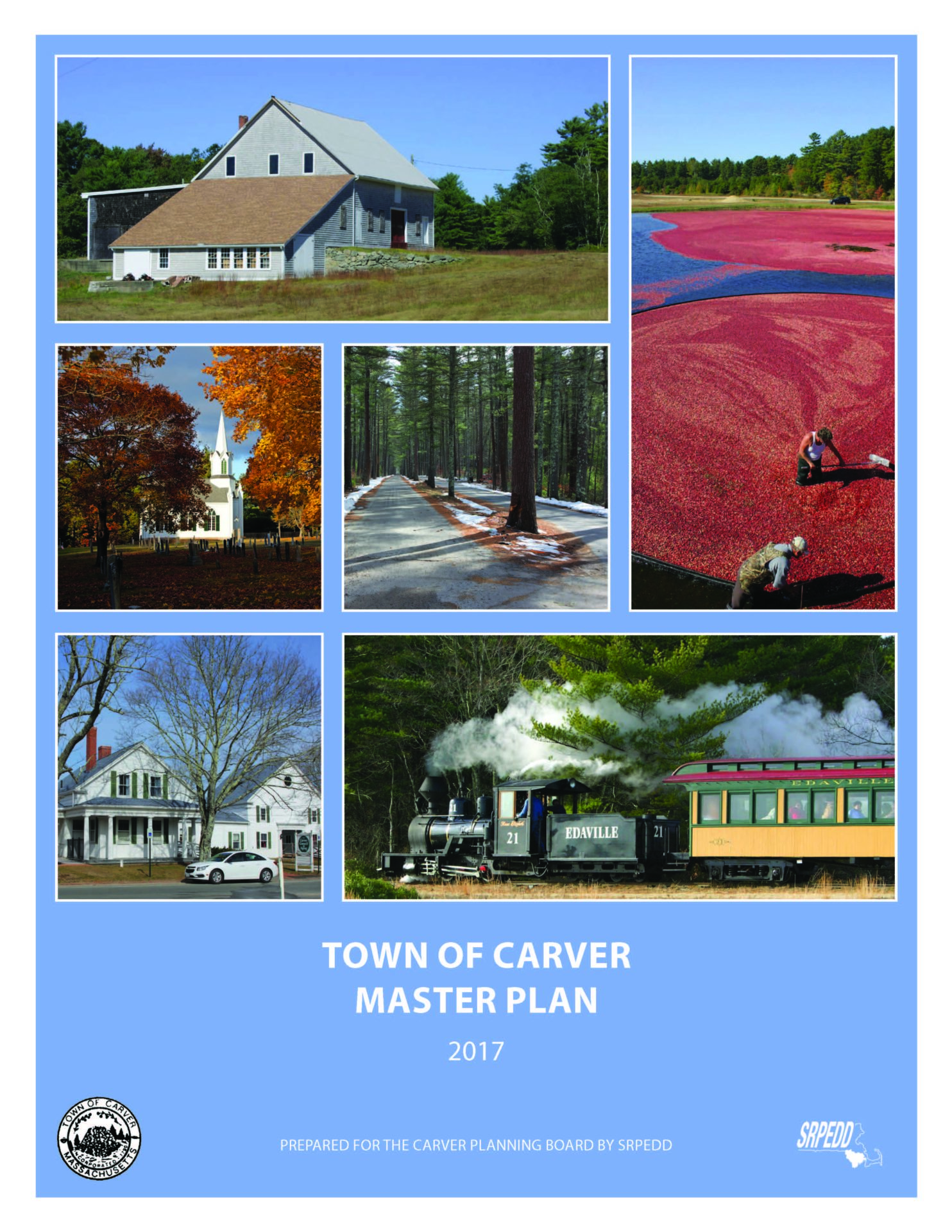 The cover of the 2017 Carver Master Plan.