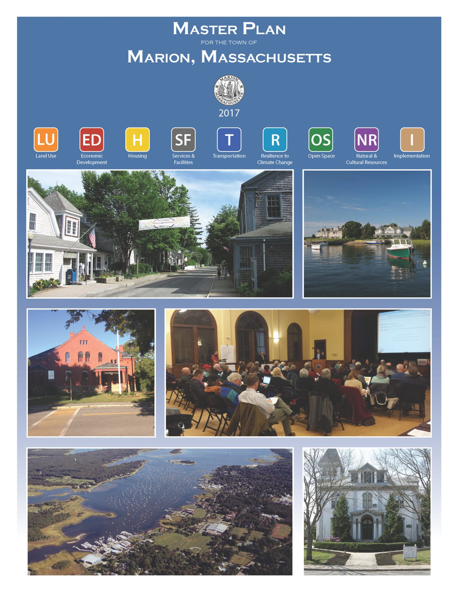 The cover of the 2017 Marion Master Plan.