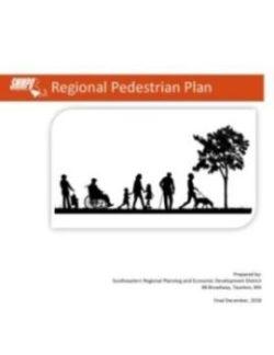 Cover of the Regional Pedestrian Plan December 2018