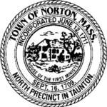 Town seal for Norton, MA.