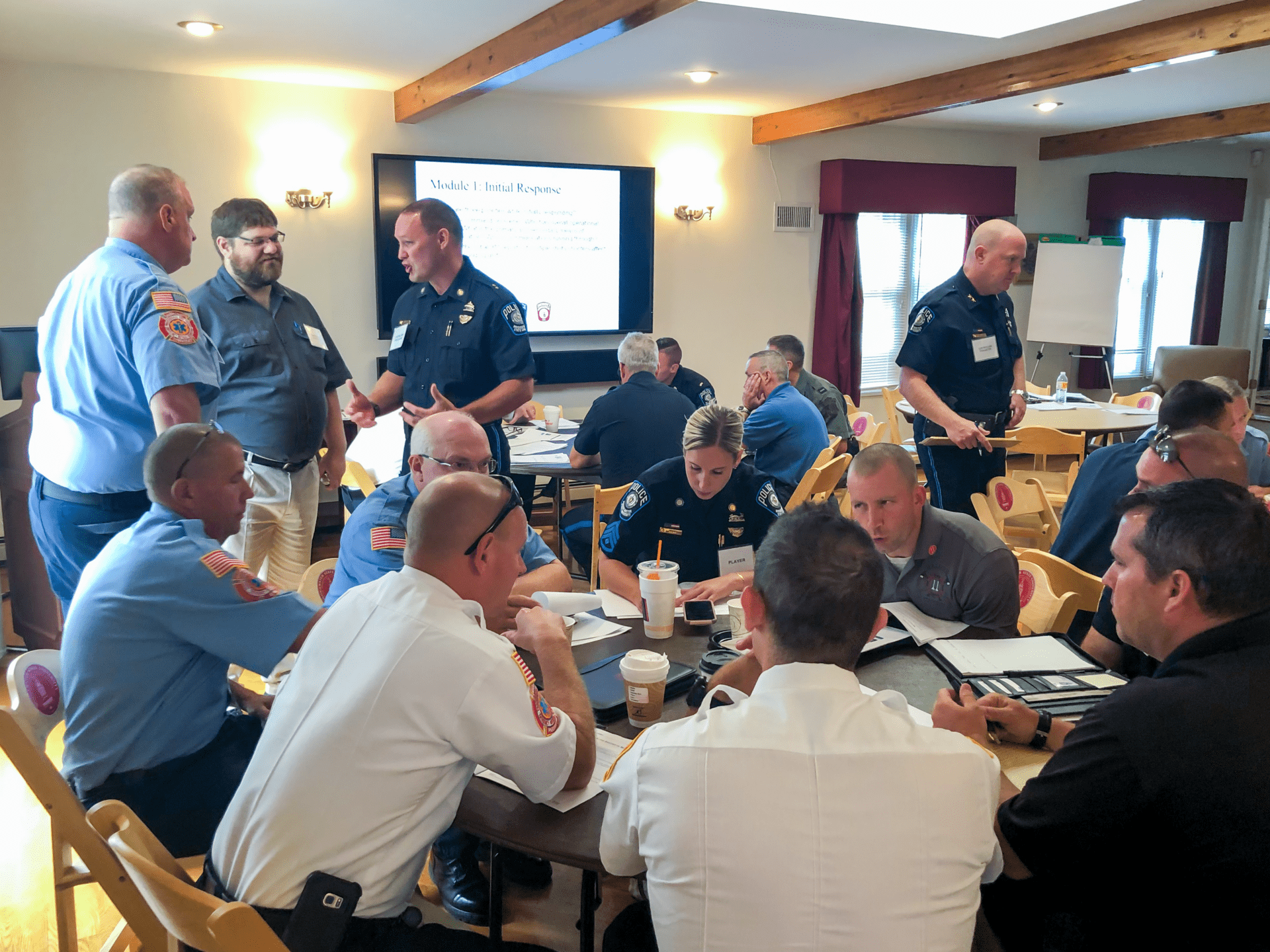 Active Shooter Tabletop Exercise at Bridgewater State University
