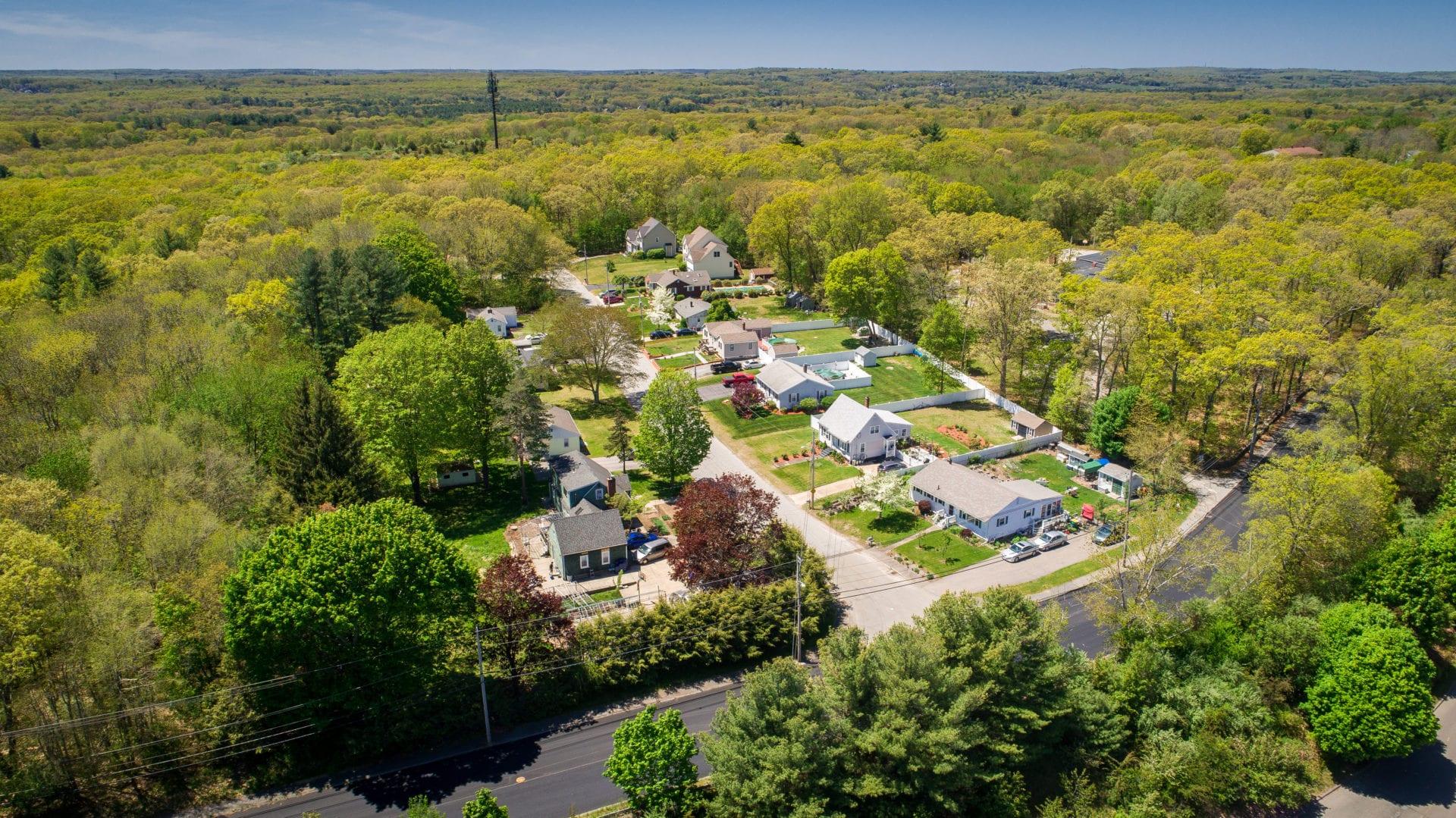 North Attleborough Master Plan Drone Photo 13 070620