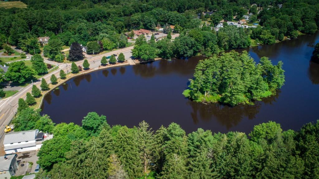 Johnson Pond in Raynham