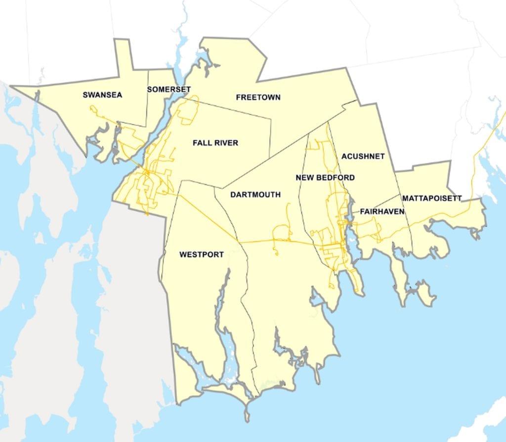 SRTA Service Area Routes April 2019