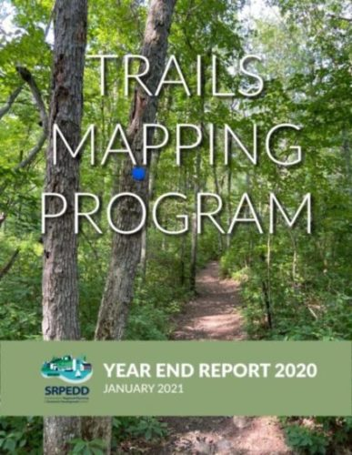 Trails Mapping Year End Report Cover
