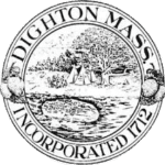 Town seal for Dighton, MA.