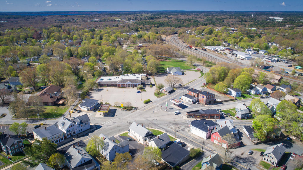 Picture of the John Glass Square area in Middleborough