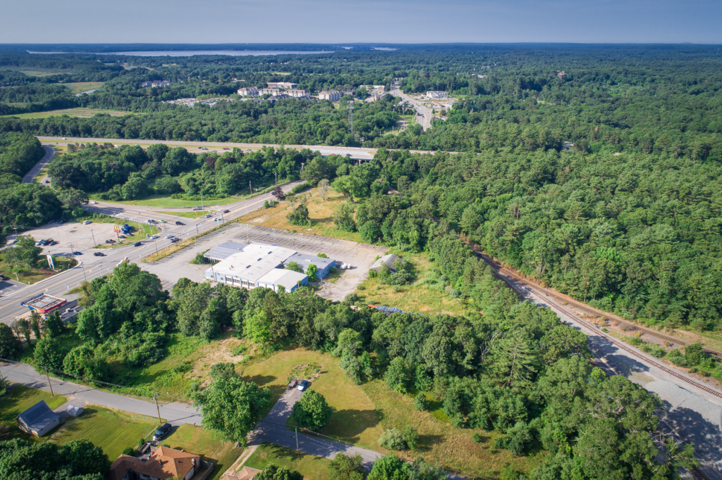 Picture of the former Chase Chevrolet site in Middleborough