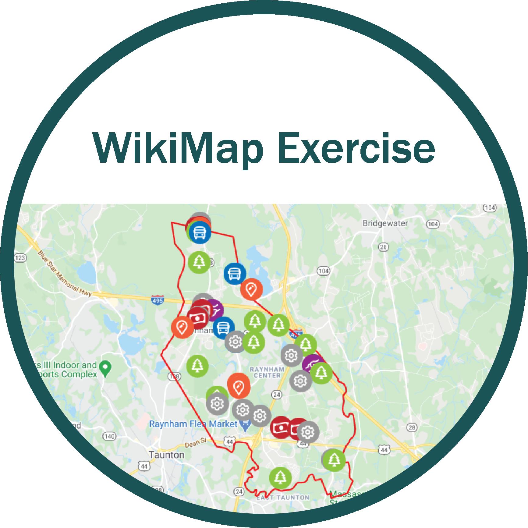 WikiMap Exercise Icon