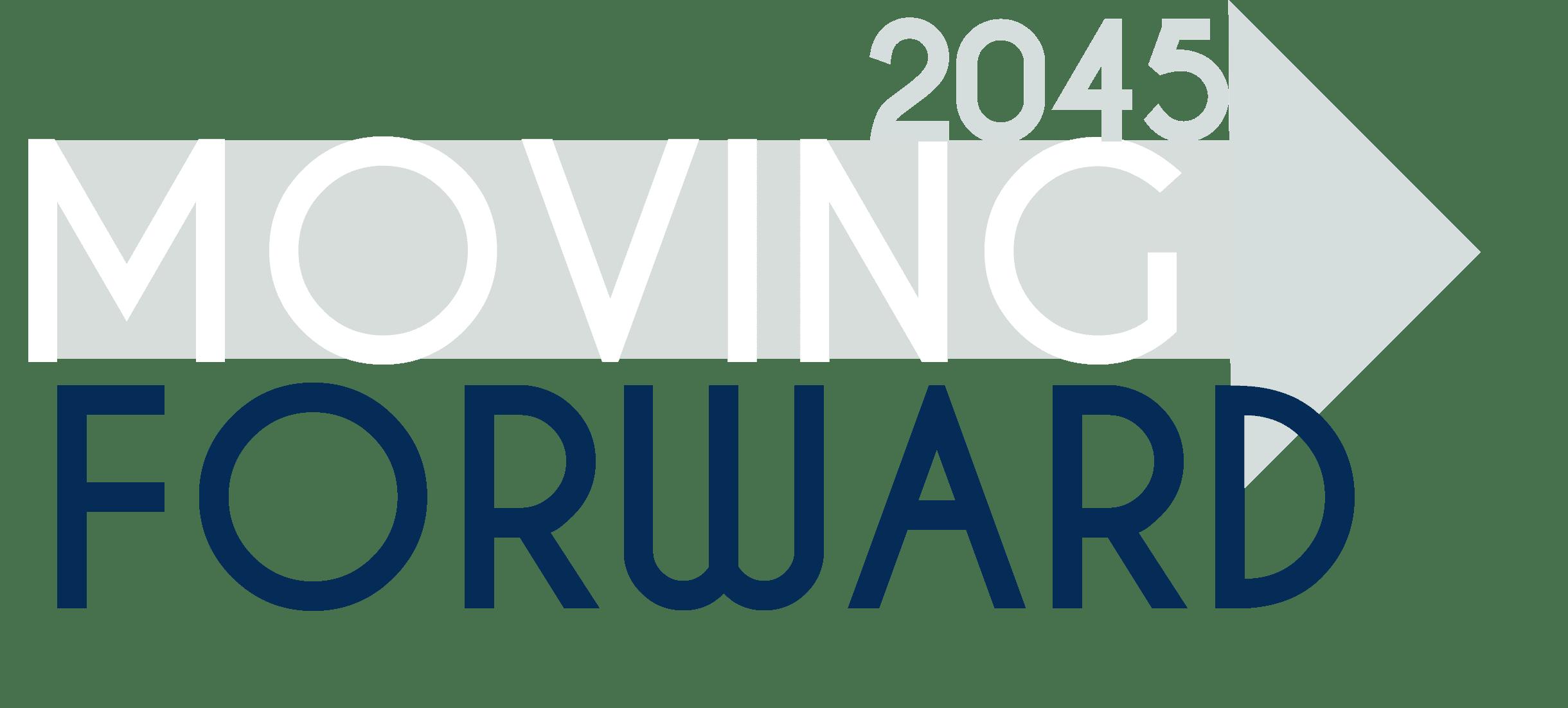 Moving Forward 2045 Logo