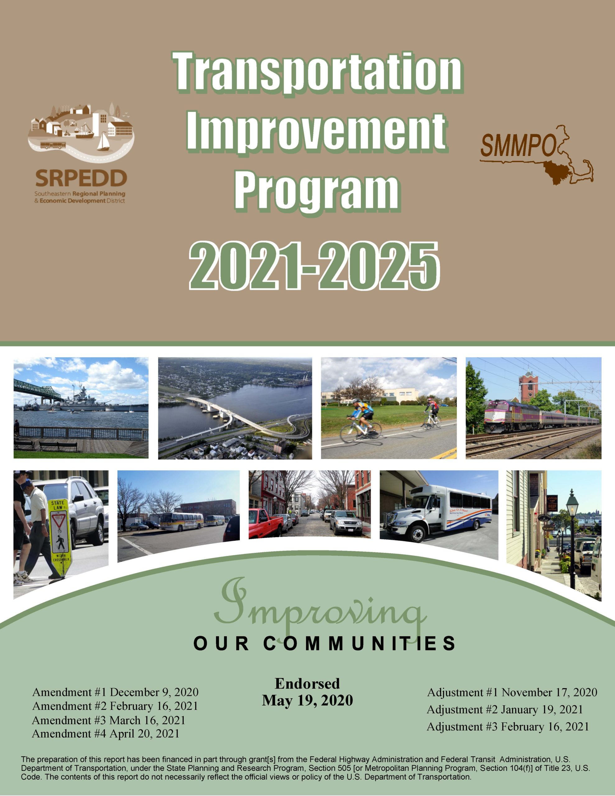 FFY 2021-2025 TIP Cover updated April 20, 2021