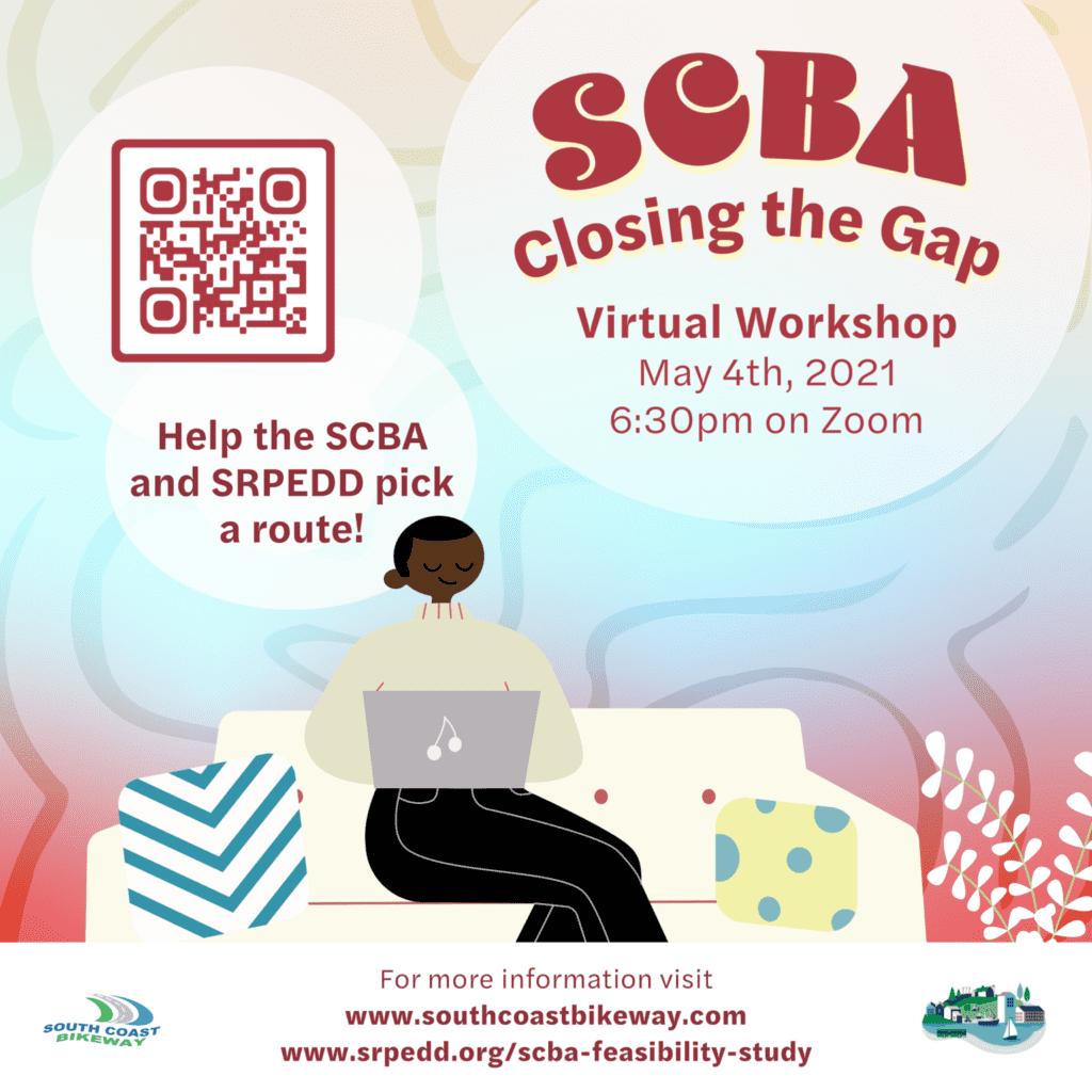 SCBA Virtual Workshop Flyer May 4th at 6:30