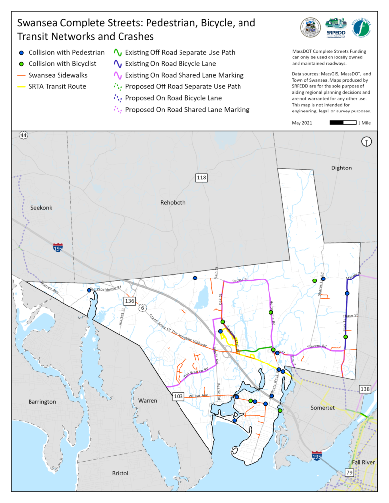 Swansea Pedestrian, Bicycle, and Transit Network