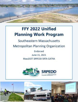 Cover FFY2022 UPWP June 15, 2021