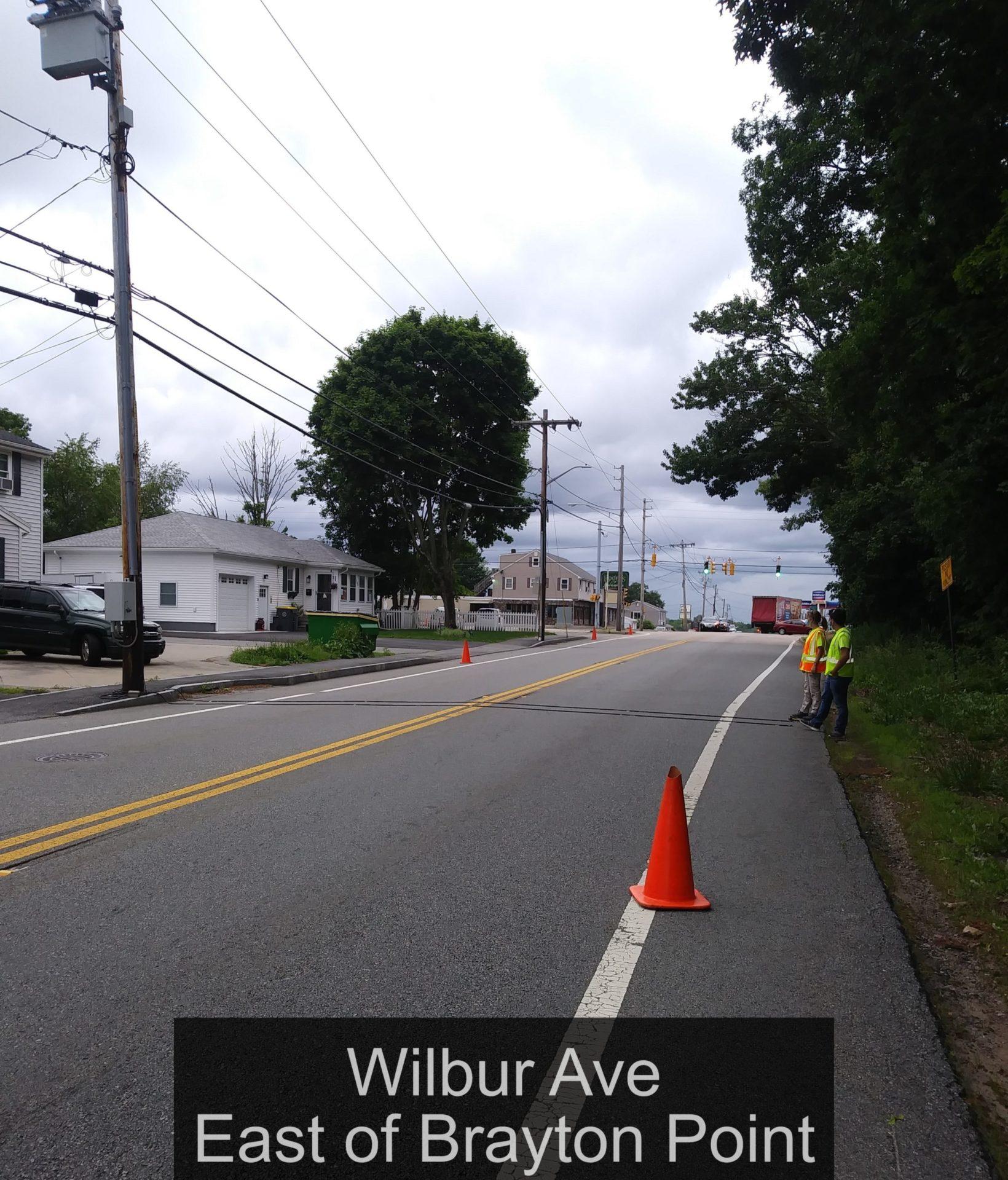 Wilbur Ave East of Brayton Point