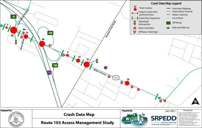 Route 103 Crash Data